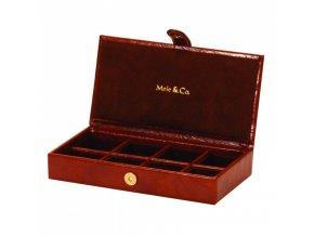Pánsky box na manžetové gombíky - pánska šperkovnica