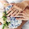 Snubní prsteny bílé zlato 3304801