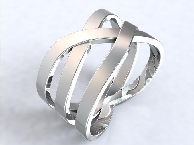 Ag925 prsten výhybka