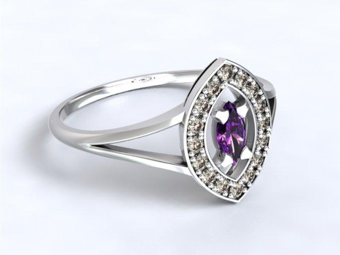 Zlatý prsten špicovál 1300701