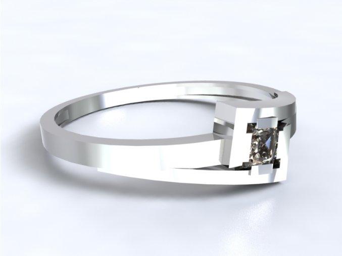 Zlatý prsten s kamenem 991301201