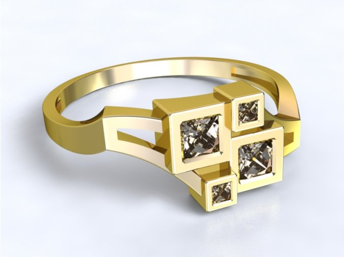 Zlatý prsten čtverce 1302001
