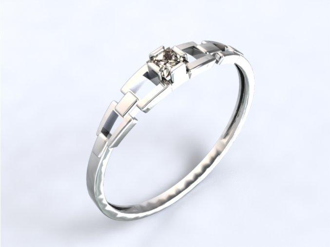 Zlatý prsten s kamenem
