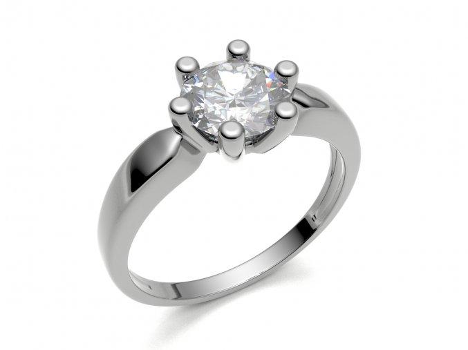 Zlatý zásnubní prsten 2303101