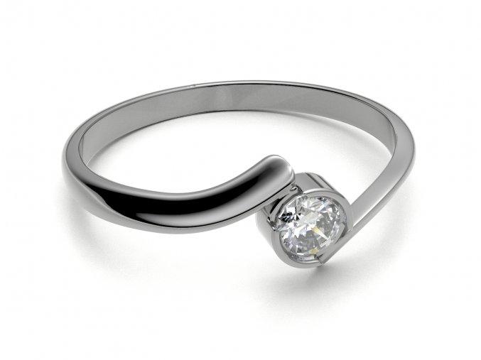 Zlatý zásnubní prsten 2303501