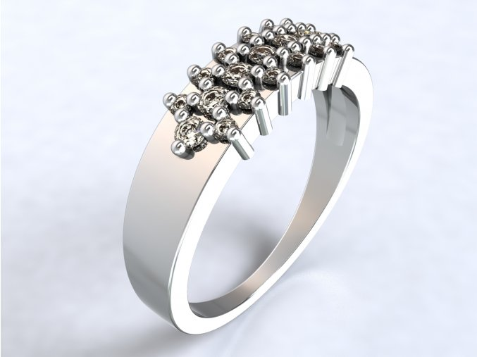 Ag925 prsten ježek