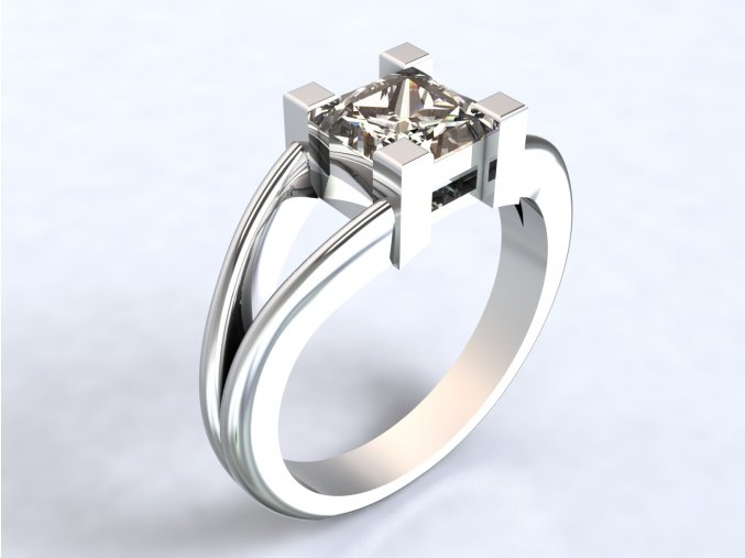 Střbrný prsten hrad
