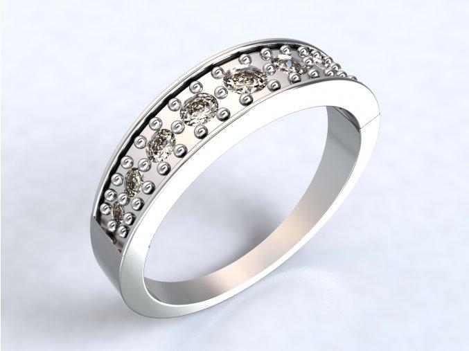 Ag925 prsten čelenka