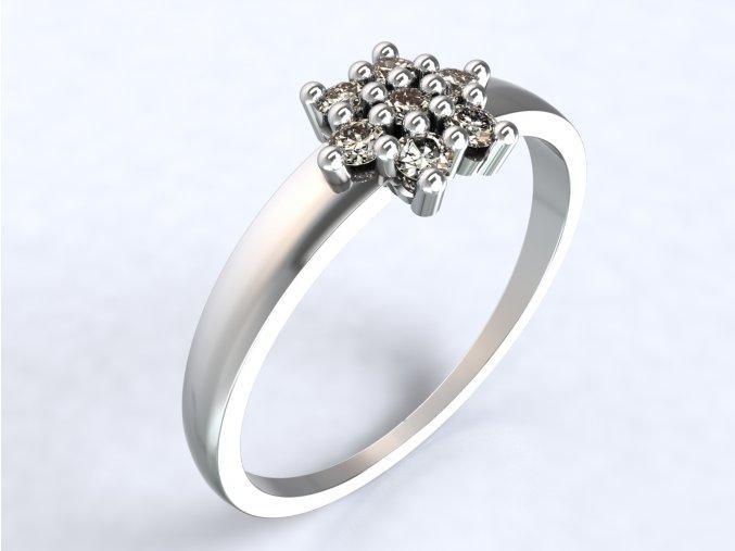 Ag925 prsten pomněnka