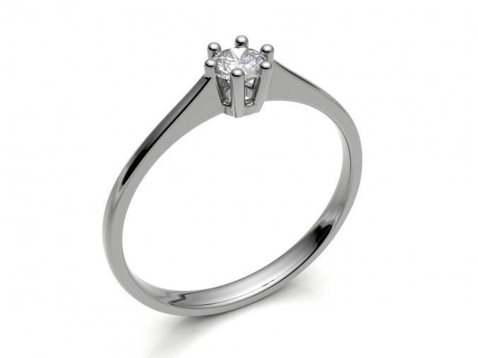 Zlatý zásnubní prsten 2304401