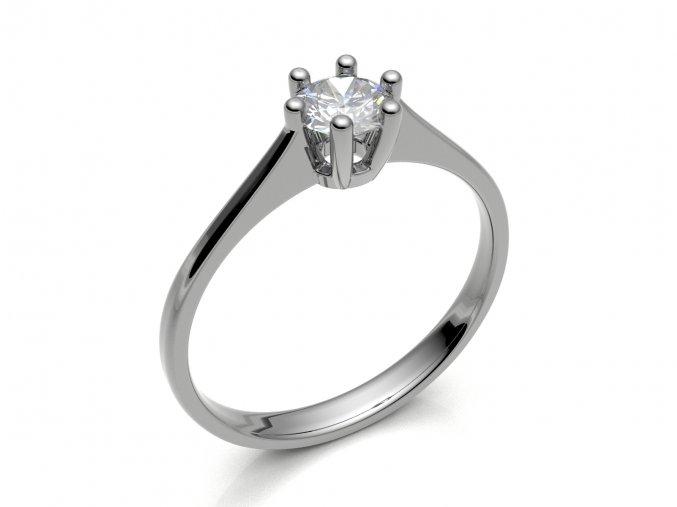Zlatý zásnubní prsten 2304501