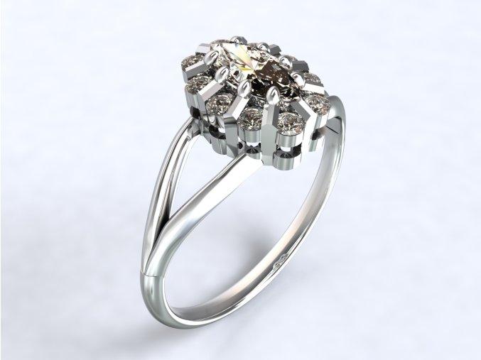 Ag925 prsten malá Diana