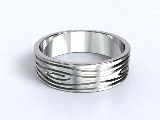 Prsten dřevo 327501