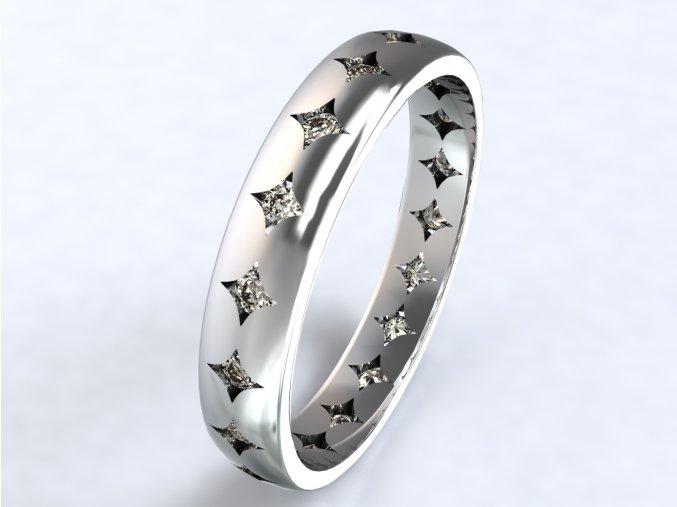 Ag925 prsten orion zirkony dokola