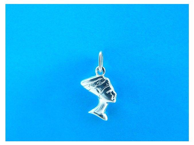 Stříbrný přívěsek Kleopatra 105901