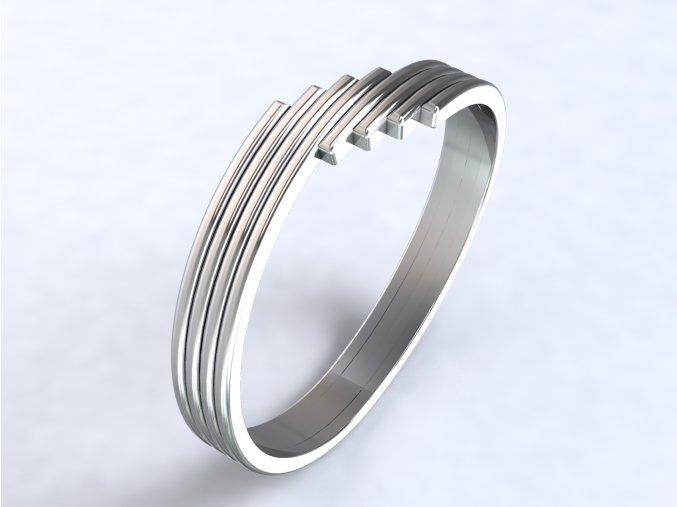 Ag925 prsten schody