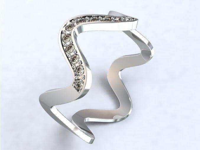 Ag925 prsten EKG