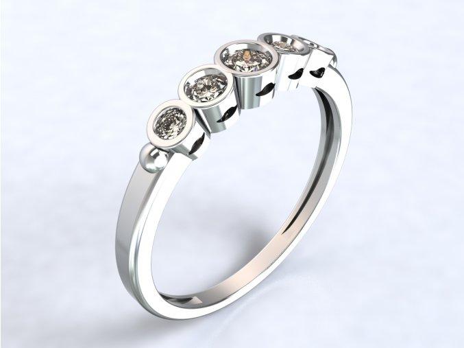 Ag925 prsten diadém