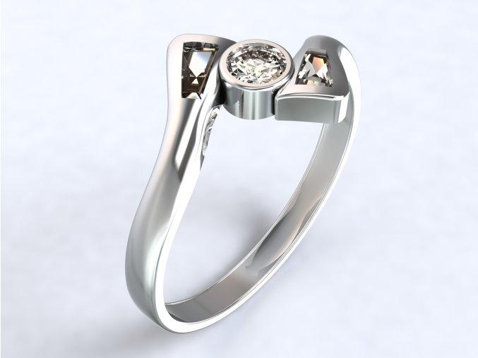 Ag925 prsten ploutve