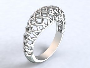 Ag925 prsten košík