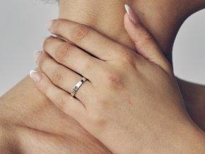 Ag925 prsten hvězda