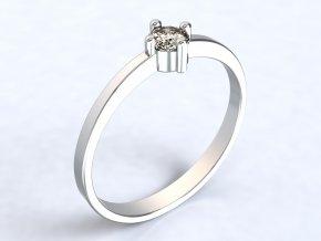 Ag925 prsten zirkon