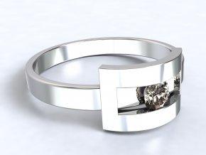 Stříbrný prsten Šárka 308701