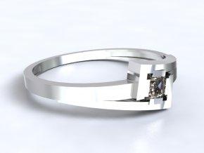 Zlatý prsten s kamenem 1301201