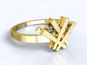Zlatý prsten čárky 1301401