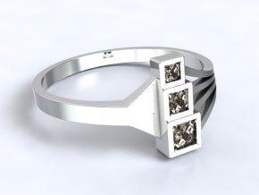 Zlatý prsten s kameny 1302101