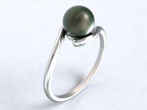 Ag925 prsten perla