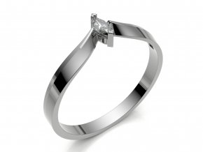 Zlatý zásnubní prsten ROSIE 3Dstyl