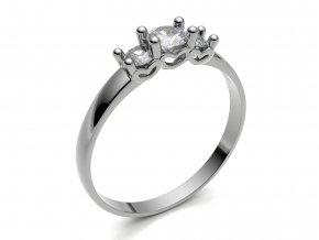 Zlatý zásnubní prsten 2300901