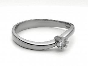 Zlatý zásnubní prsten 2301101