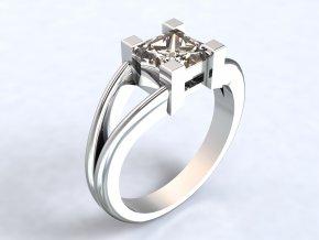 Střbrný prsten hrad 312701