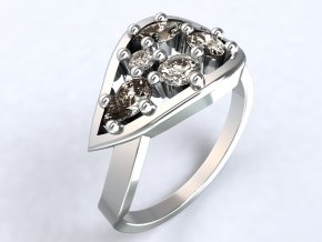 Ag925 prsten list