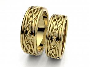 Keltské snubní prsteny 3305103