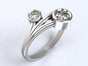 Ag925 prsten poupata