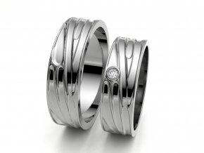 Snubní prsteny bílé zlato 3306501