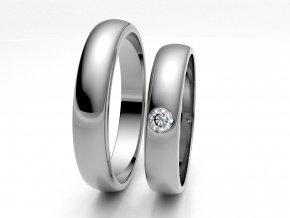 Snubní prsteny bílé zlato 3306701