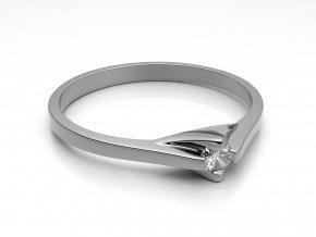 Zlatý zásnubní prsten 2303801