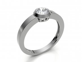 Zlatý zásnubní prsten 2303901