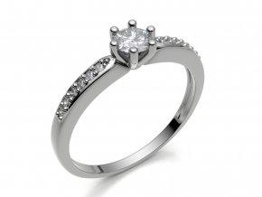 Zlatý zásnubní prsten 992304701