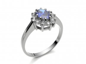 Ag925 prsten Lady Di