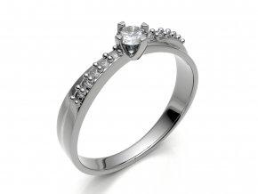 Zlatý zásnubní prsten 1306001