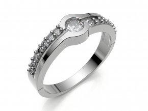 Zlatý prsten s kameny 1304801