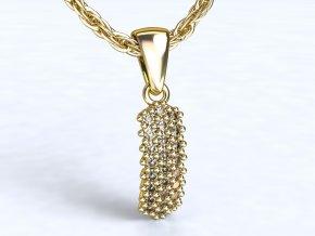 Zlatý přívěsek s kameny 991104501