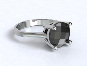 Stříbrný prsten mango 327001