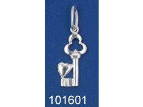 stříbrný přívěsek klíček 101601