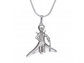 Stříbrný přívěsek Malý princ 120401